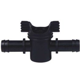 "In line valve 3/4"" (Straight Connector w/shut off valve), Per UNIT (AFW)"