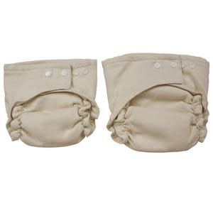 OsoCozy Diapers All Together Unbleached Fitted