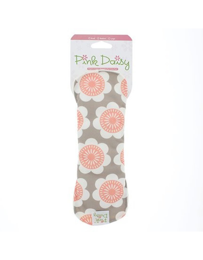 Blueberry Pink Daisy Feminine Pad - Medium