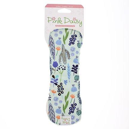 Blueberry Pink Daisy Feminine Pad - Medium