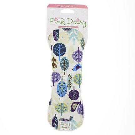 Blueberry Pink Daisy Feminine Pad - Large