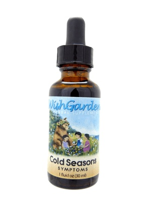 WishGarden Herbs WishGarden Tincture Cold Seasons Symptoms For Kids 1 fl. oz