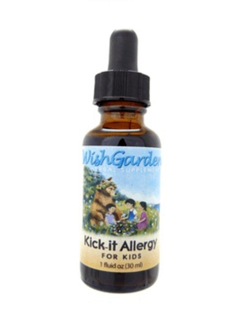 WishGarden Herbs WishGarden Tincture Kick-it Allergy For Kids 1 fl. oz