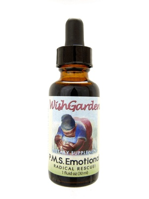 WishGarden Herbs WishGarden Tincture PMS Emotional Redical Rescue! 1 fl. oz
