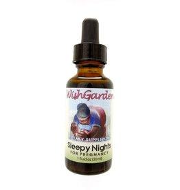 WishGarden Herbs WishGarden Tincture Sleepy Nights For Pregnancy 1 fl. oz