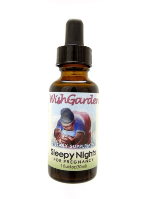 WishGarden Herbs WishGarden Tincture Sleepy Nights For Pregnancy 1 fl. oz