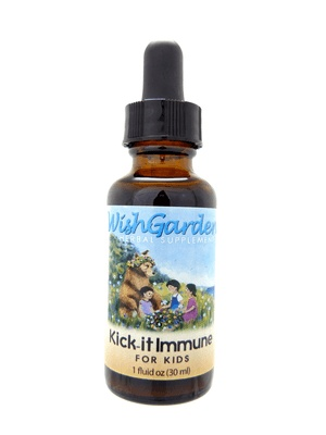 WishGarden Herbs Wishgarden Tincture Kick It Immune for Kids 1 ounce