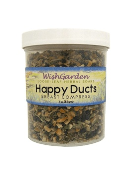 WishGarden Herbs WishGarden Compress Happy Ducts Compress
