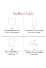 Thirsties Baby Thirsties Duo Hemp Prefold