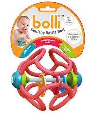 Bolli Bolli Squishy Rattle Ball