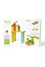 Tegu Tegu Magnetic Blocks Tints 42 Piece Set