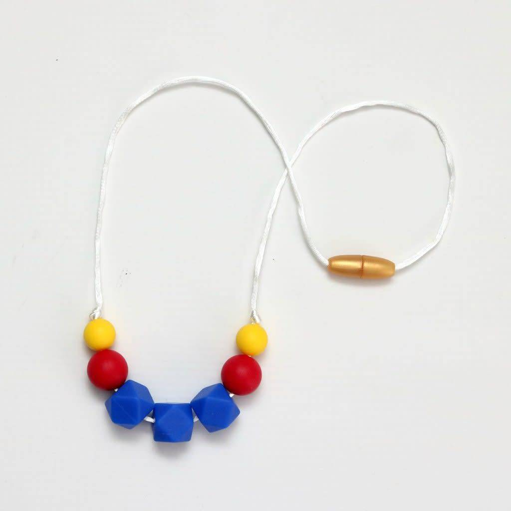 Getting Sew Crafty Child Size Silicone Necklace - Royal Blue