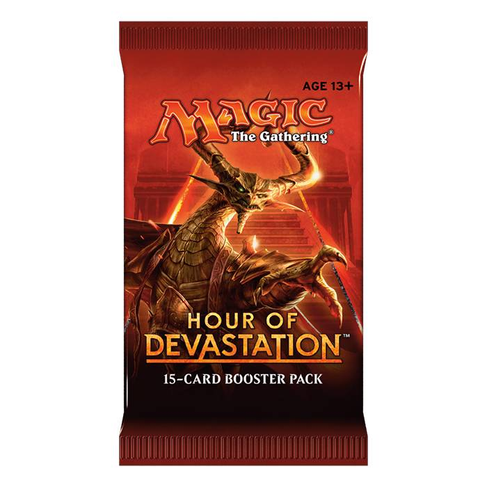 WIZARDS OF THE COAST MTG TCG HOUR OF DEVASTATION BOOSTER PACK