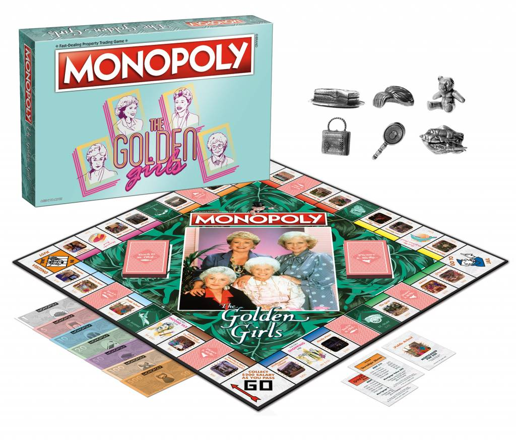 Diamond Comic Distributor MONOPOLY GOLDEN GIRLS ED