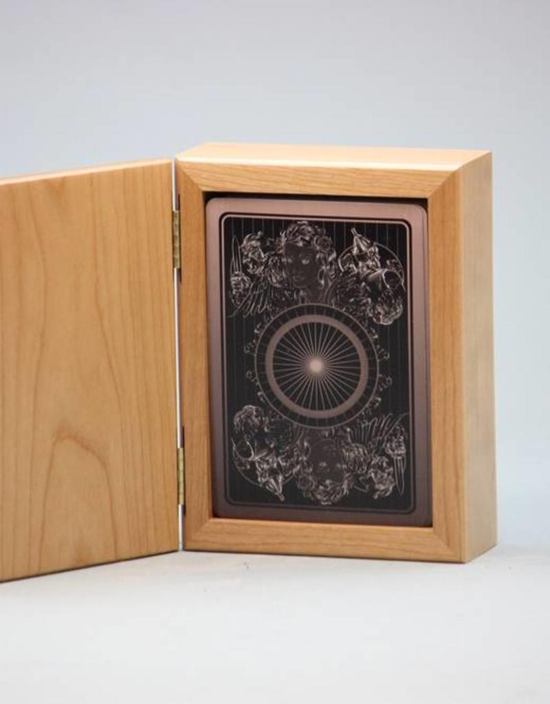 SHADOW OF OZ CHERRY WOOD TAROT BOX