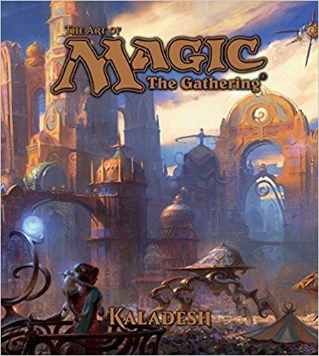VIZ MEDIA LLC ART OF MAGIC THE GATHERING HC KALADESH