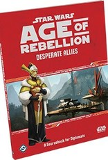 STAR WARS RPG AGE OF REBELLION DESPERATE ALLIES BK