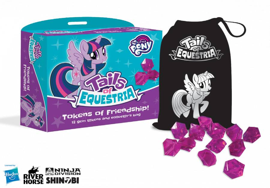 RIVER HORSE GAMES MY LITTLE PONY RPG TAILS OF EQUESTRIA TOKENS OF FRIENDSHIP