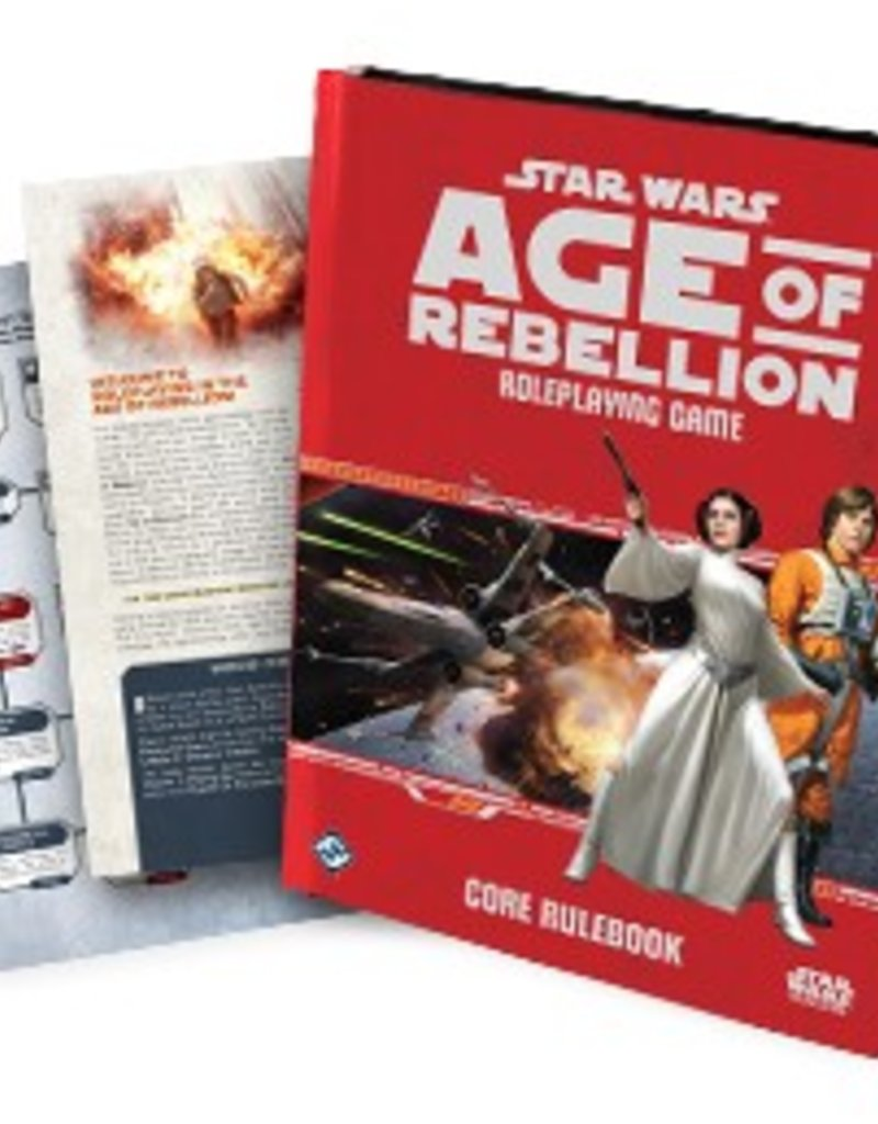 STAR WARS RPG AGE OF REBELLION CORE RULEBOOK