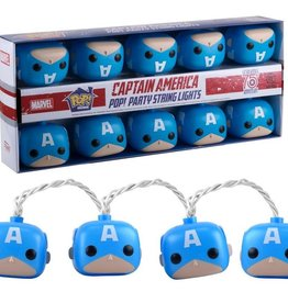 FUNKO POP LIGHTS MARVEL CAPTAIN AMERICA