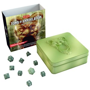 WIZARDS OF THE COAST DUNGEONS & DRAGONS TOMB OF ANNIHILATION DICE SET
