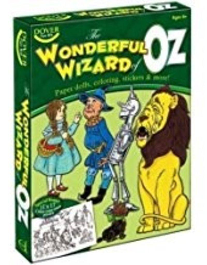 DOVER PUBLICATIONS WONDERFUL WIZARD OF OZ FUN KIT