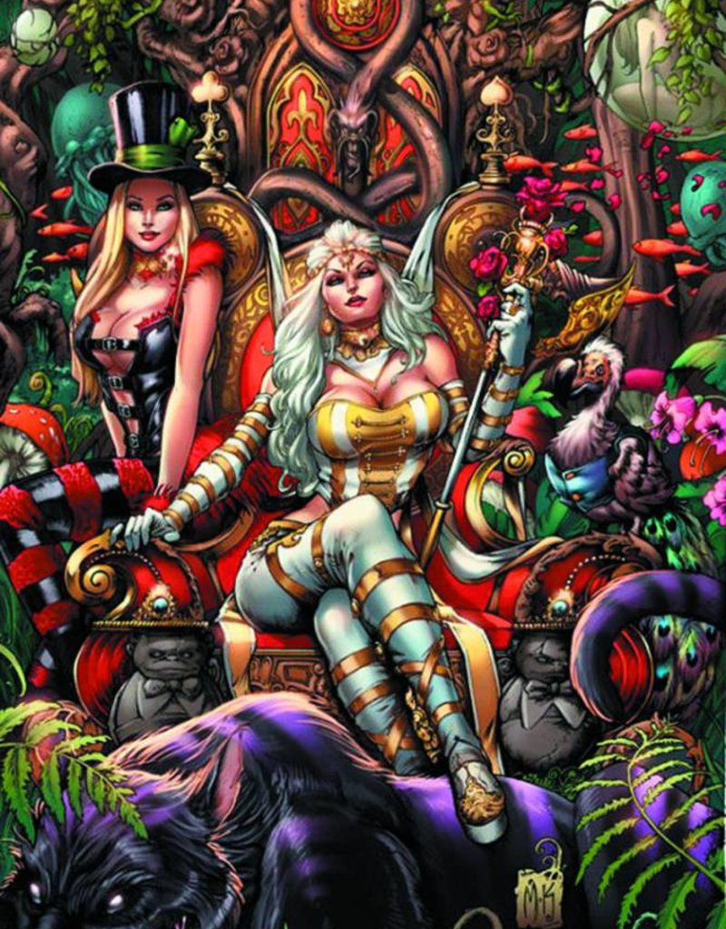 ZENESCOPE ENTERTAINMENT INC GFT WONDERLAND TP VOL 02