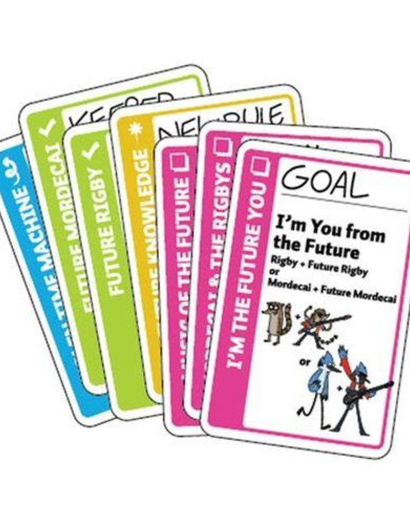 LOONEY LABS CARTOON NETWORK FLUXX 7 NEW CARDS FROM THE FUTURE