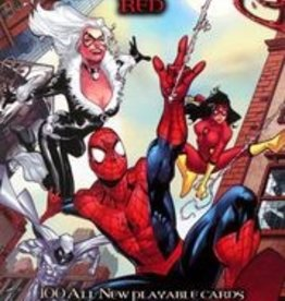 UPPER DECK MARVEL LEGENDARY DBG SPIDER-MAN PAINT THE TOWN RED