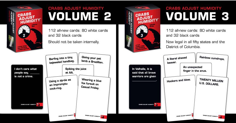 VAMPIRE SQUID CARDS CRABS ADJUST HUMIDITY V2