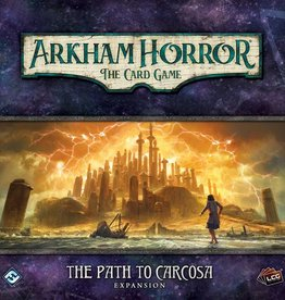 FANATASY FLIGHT GAMES ARKHAM HORROR LCG THE PATH CARCOSA EXP