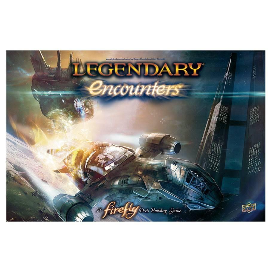 UPPER DECK LEGENDARY DECK BUILDING GAME ENCOUNTERS FIREFLY