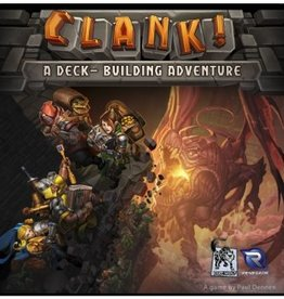 RENEGADE GAME STUDIOS CLANK DECK BUILDING ADVENTURE GAME