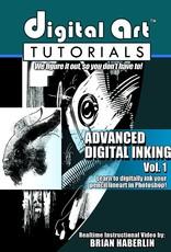 IMAGE COMICS DIGITAL ART TUTORIALS ADVANCED DIGITAL INKING CD ROM VOL 01