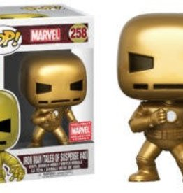 FUNKO POP IRON MAN GOLD TALES OF SUSPENSE #39 VINYL FIG MARVEL COLLECTOR CORPS