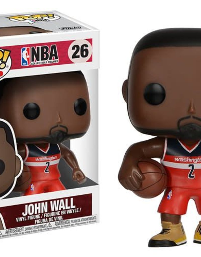 FUNKO POP NBA WASHINGTON WIZARDS JOHN WALL VINYL FIG