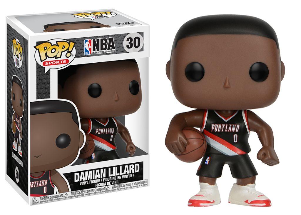 FUNKO POP NBA PORTLAND TRAIL BLAZERS DAMIAN LILARD VINYL FIG