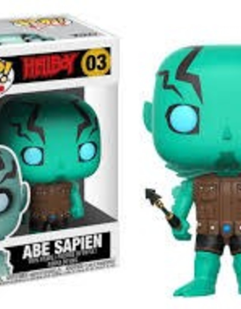FUNKO POP HELLBOY COMICS ABE SAPIEN VINYL FIG