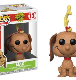 FUNKO POP BOOKS THE GRINCH MAX THE DOG VINYL FIG