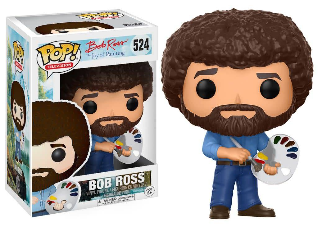 FUNKO POP BOB ROSS VINYL FIG