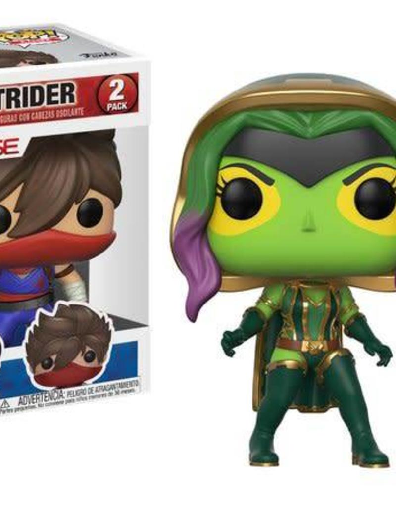 FUNKO POP MARVEL VS CAPCOM GAMORA STRIDER 2 PACK VINYL FIG