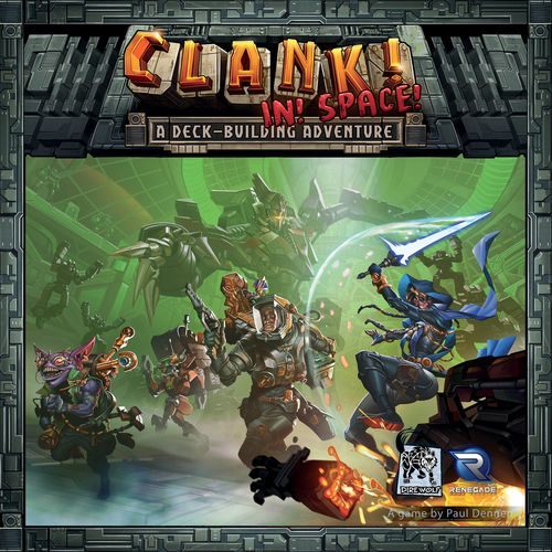 RENEGADE GAME STUDIOS CLANK IN SPACE DECK BUILDING ADVENTURE GAME