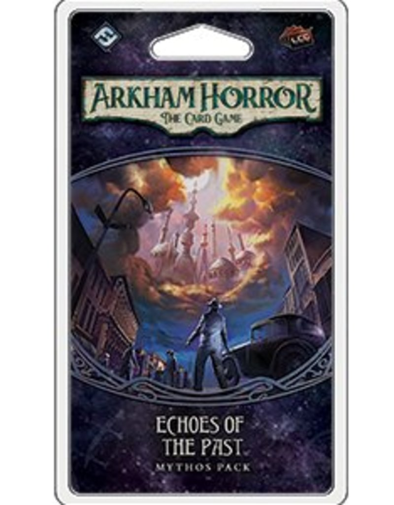 FANTASY FLIGHT GAMES ARKHAM HORROR LCG ECHOES OF THE PAST MYTHOS PACK