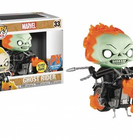 FUNKO POP RIDES MARVEL CLASSIC GHOST RIDER W/BIKE PX VIN FIG GLOW