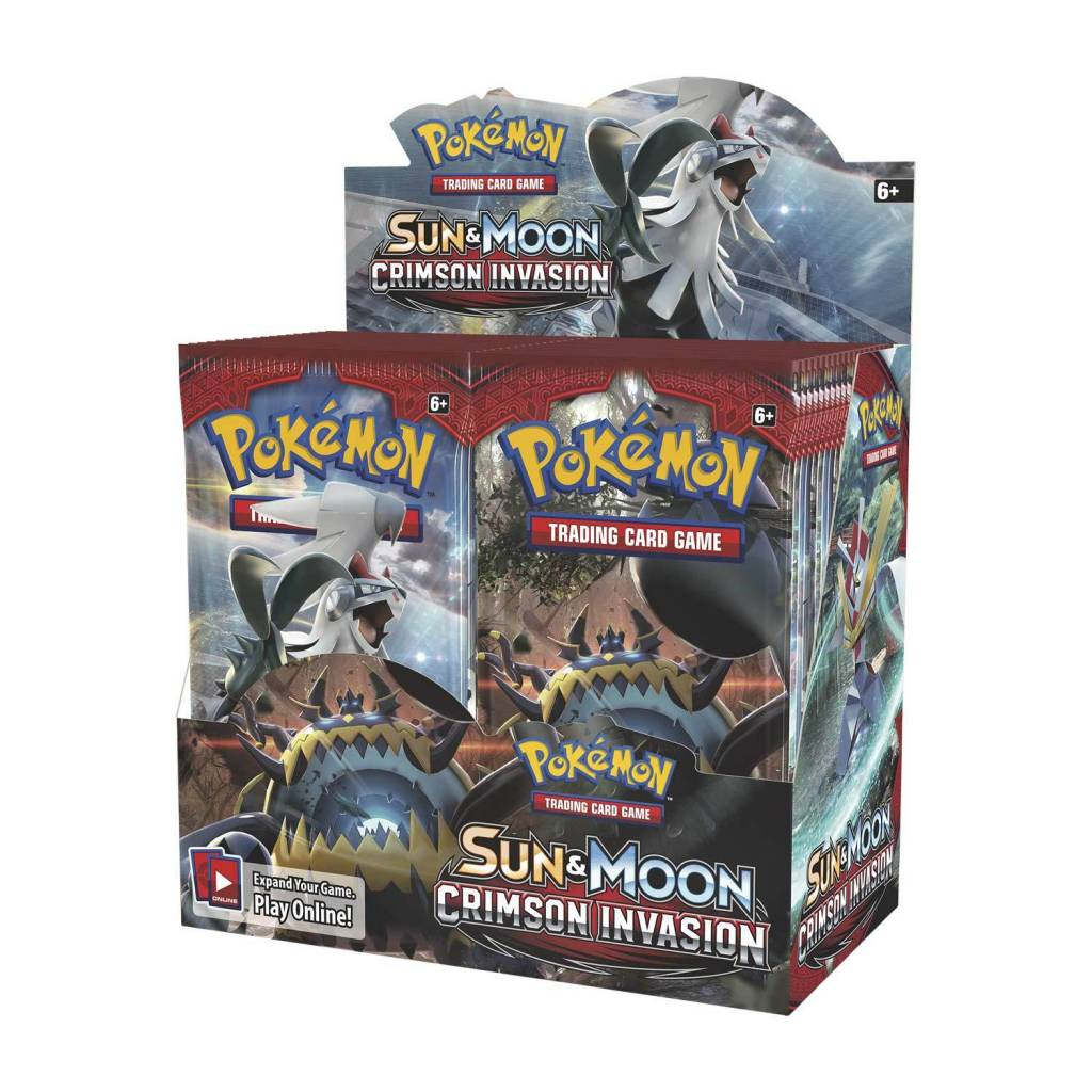 POKÉMON TCG SUN AND MOON CRIMSON INVASION BOOSTER PACK