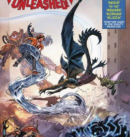 Diamond Comic Distributor MONSTERS UNLEASHED #7 MORA LH VAR LEG