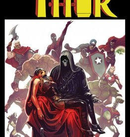 MARVEL COMICS MIGHTY THOR #700 HANS LH VAR LEG