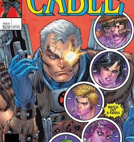 Diamond Comic Distributor CABLE #150 LIEFELD LH VAR LEG