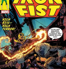 MARVEL COMICS IRON FIST #73 PERKINS LH VAR LEG