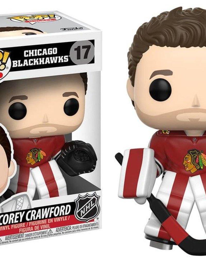 FUNKO POP NHL COREY CRAWFORD VINYL FIG